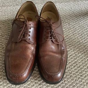 COPY - MEN'S Florsheim Bronze Leather Shoes Size …